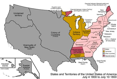 Map Of The United States In 1800 | 301 moved permanently