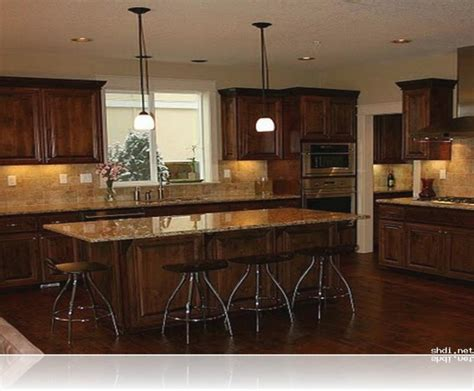 kitchen decorating ideas dark cabinets the wall the kitchen paint colors with dark cabinets designcorner