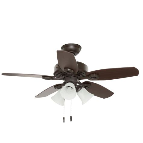 Builder Ceiling Fans by Monte Carlo Clarity Ii 42 In Brushed Steel Ceiling Fan With 3 Blade 3clyr42bsd The Home Depot