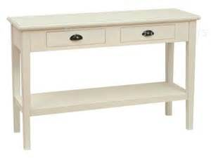 Shabby Chic Console Table Shabby Chic Rutherford White Console Table Ebay