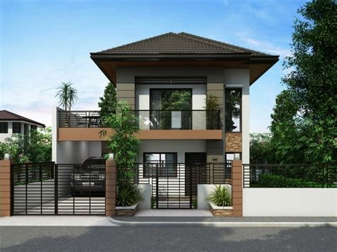 Best Two Storey House Plans by The Most Awesome Along With Lovely 2 Story House Design
