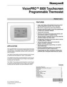 honeywell programmable thermostat operating manual honeywell wiring diagram free