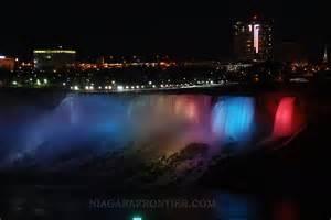 lights niagara falls niagara falls the illumination lights