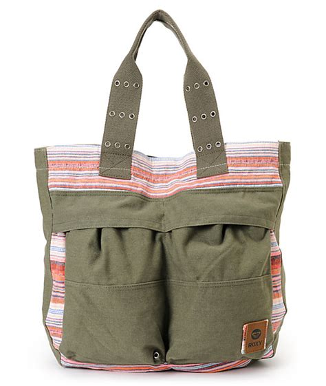 Tote Bag Simple Hijau Army noise army green tote bag
