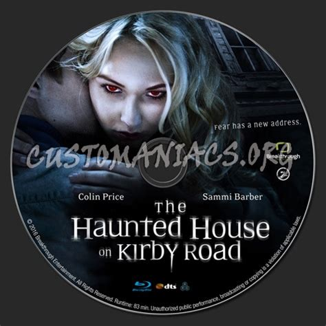 The Haunted House Of Kirby Road the haunted house on kirby road label dvd covers labels by customaniacs id 237315