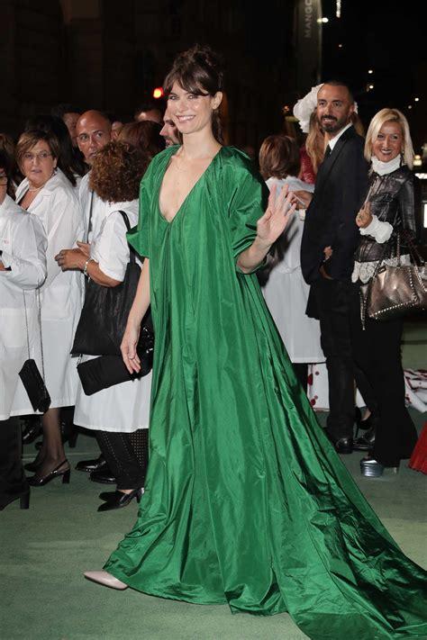 Fashion Awards Carpet Up 2 by Vittoria Puccini At Green Carpet Fashion Awards In Milan