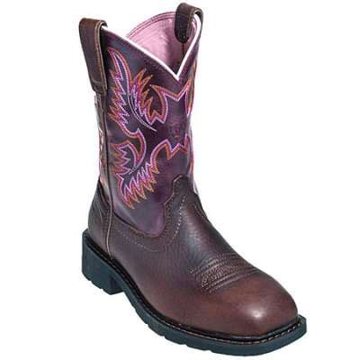 ariat boots s 10009494 steel toe eh krista cowboy boots