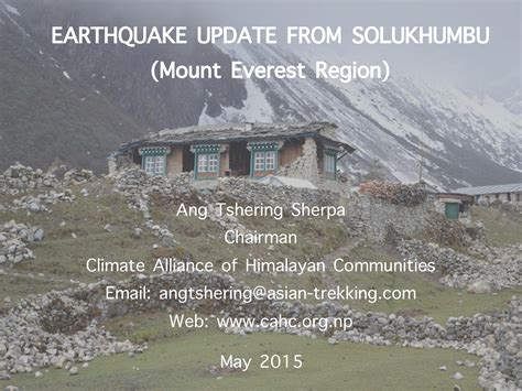 earthquake update earthquake updates everest region page 001 the blog on