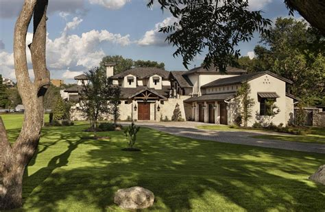 Colonial Luxury House Plans by Hill Country Modern In Austin Texas By Jauregui Architects