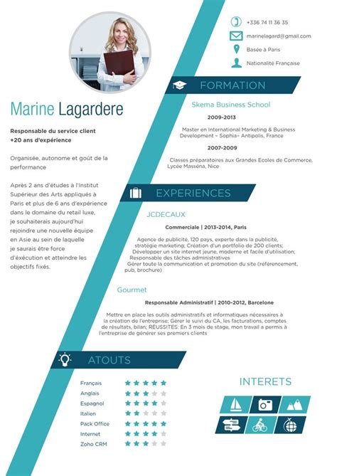 x design cv 46 best images about cv originaux on pinterest teacher