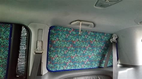 diy car window curtains diy insulated van or rv window coverings insulation and