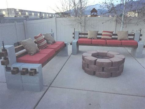 17 Best Ideas About Cinder Block Bench On Pinterest Cinder Block Patio Furniture