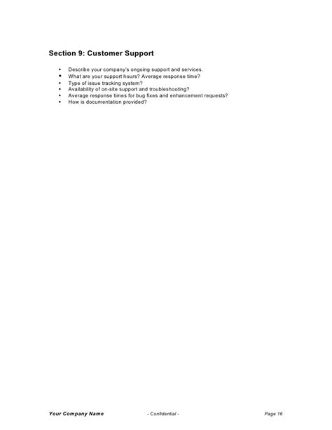 Crm Rfp Template by Crm Rfp Template