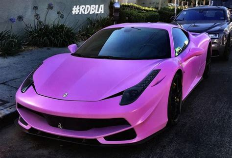 matte pink porsche satin matt pink pimp my 458 italia by rdb la