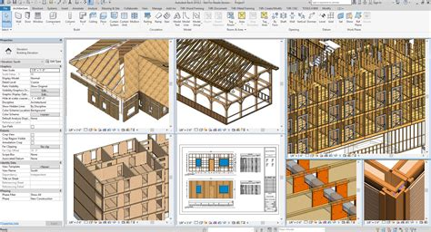 wood framing extension  revit lt version agacad