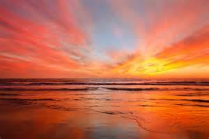 Sunset In File Sunset In El Porto California 8074300769 Jpg