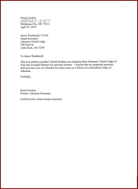 Sle Formal Letter Of Resignation by Resignation Letter Format Format Sle 28 Images How To Write A Simple Resignation Letter