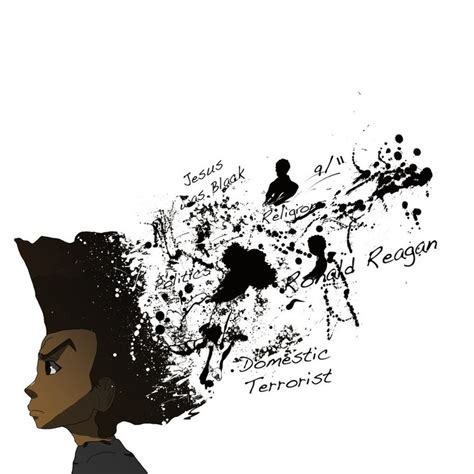 8 best huey freeman images on pinterest the boondocks