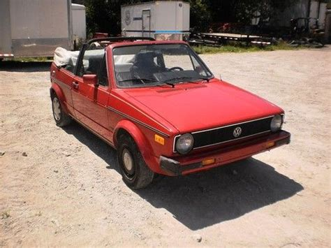 service and repair manuals 1987 volkswagen cabriolet head up display sell used 1987 volkswagen rabbit karmann cabriolet convertible top in seneca illinois united