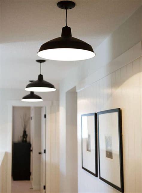 fresh farmhouse black ceiling lighting hallway lighting