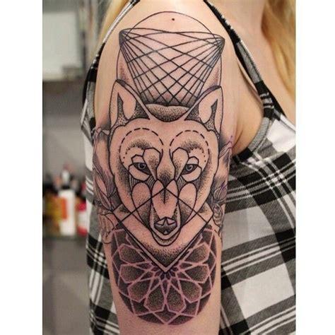 tattoo geometric fox geometric tattoo fox wolf fox art pinterest