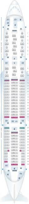 seat map austrian airlines boeing b777 200er v1