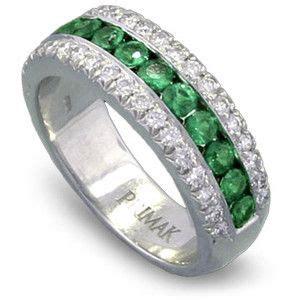 Wedding Bands Bc by Http Www Weddingringsetss Ring Emerald