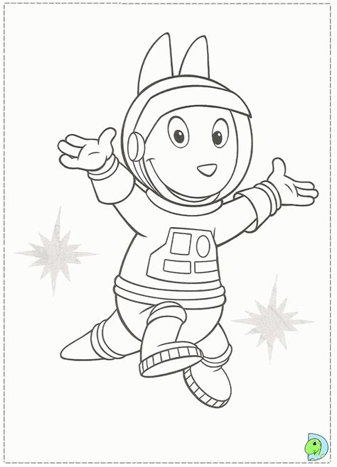 backyardigans halloween coloring pages backyardigans coloring page kids coloring
