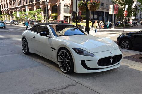 Maserati Dealer Chicago by 2011 Maserati Granturismo Convertible Stock 56238 For