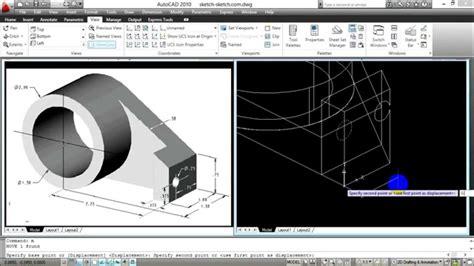 tutorial autocad untuk pertambangan 2 belajar autocad 3d making a 3d model youtube