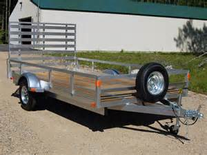 Enclosed Trailer Lights Aluminum Utility Trailers 173 Open Trailers Landscape Trailers