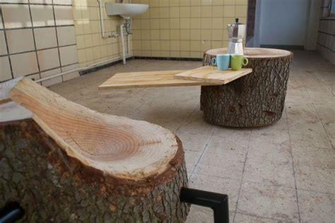 Furniture Made Of Reclaimed Wood by Furniture Made From Reclaimed Wood Maintains Its Naturalistic Appeal Homecrux