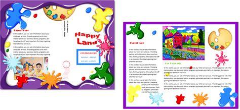 child care brochure template child care brochure template 21 child care owner