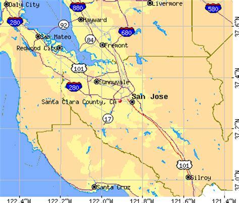 santa clara california map santa clara county california detailed profile houses real estate cost of living wages