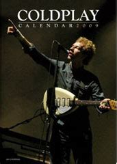 Kaos Band Coldplay Merchandise Official 09 coldplay calendar coldplay calendars calendar