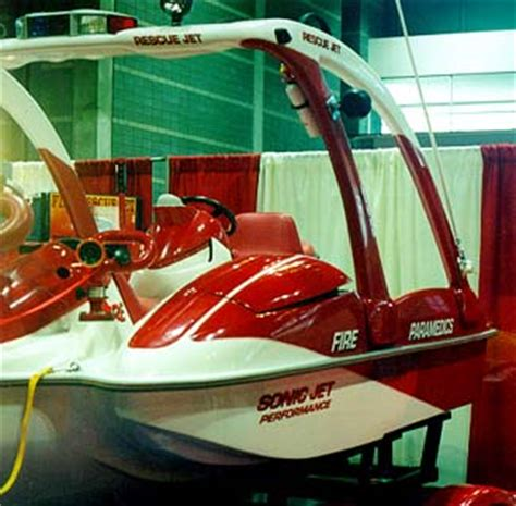 sonic jet rescue boat sonic jet
