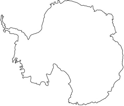 antarctica flag free colouring pages