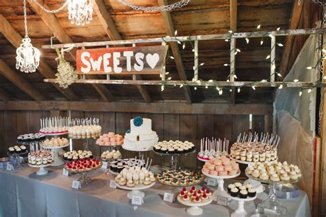 how to create a rustic dessert table for your barn wedding beautiful bridal rustic dessert table ideas