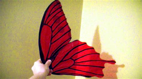 How To Make Paper Butterfly Wings - make 10 cellophane wings no wire safe for