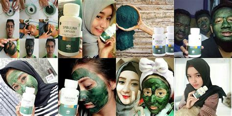 Masker Spirulina Per Kapsul masker spirulina distributor resmi wa 0877 7000 7581