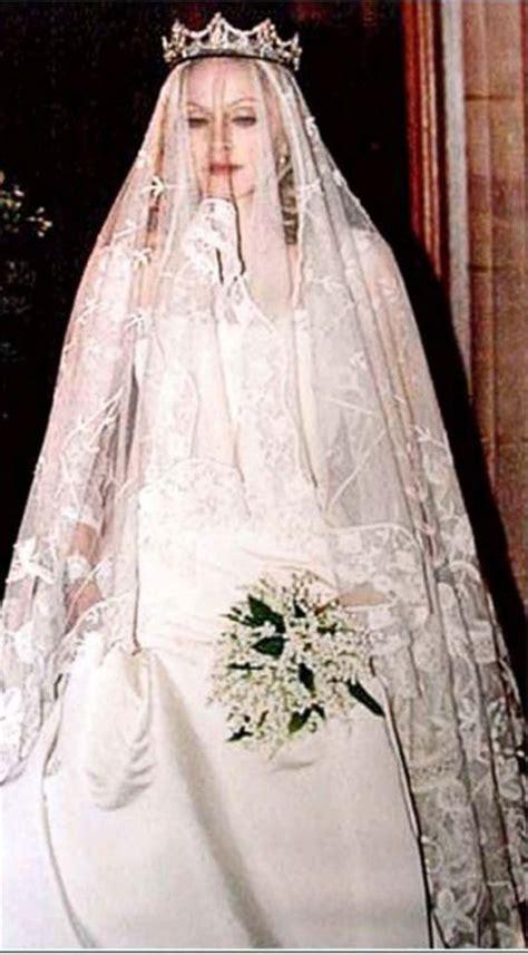 Madonna & Guy Ritchie   gown by Stella McCartney   Wedding
