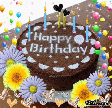 imagenes de happy birthday to my grandson voeux d anniversaire recu de la part de blingee koi wa