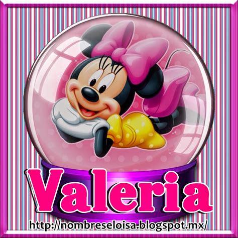 imagenes de i love valeria ღღtarjetitasღღ minie nombres