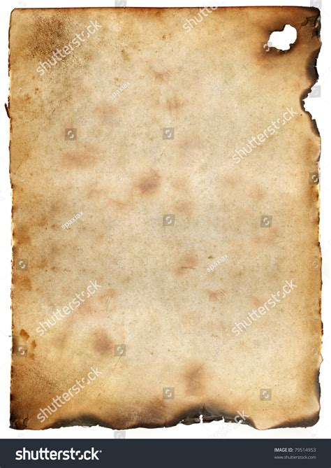 How To Make Burnt Paper - vintage burnt paper background stock photo 79514953
