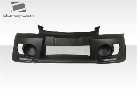 hyundai accent front bumper duraflex evo 5 front bumper kit 1 pc overstock for