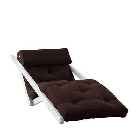 white frame futon figo white frame natural cushion fresh futon