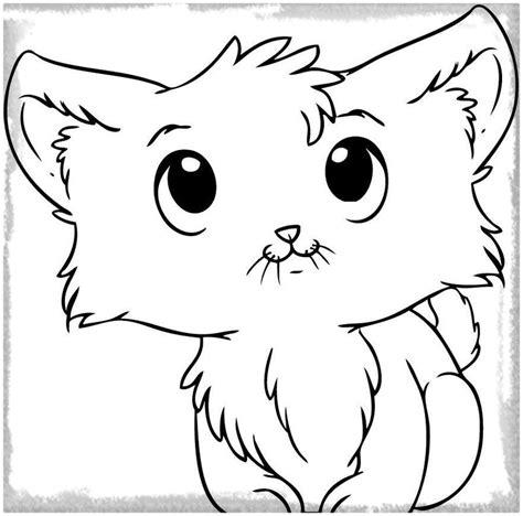 imagenes de gatitos kawaii para colorear dibujos para colorear de gatitos bonitos archivos