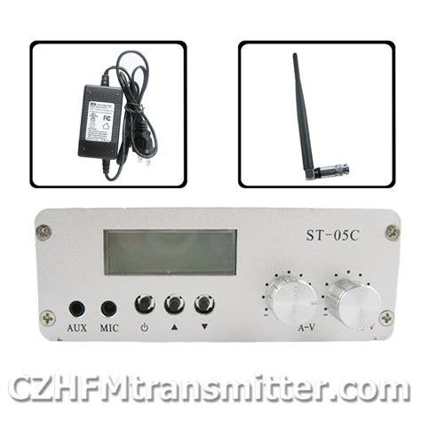 st 05c 0 1w 0 5w home fm transmitter stereo pll radio