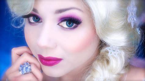 queen elsa makeup tutorial elsa inspired makeup from disney s frozen this girl is