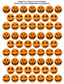 Printable Halloween Pumpkin - easy halloween classroom treats free printable